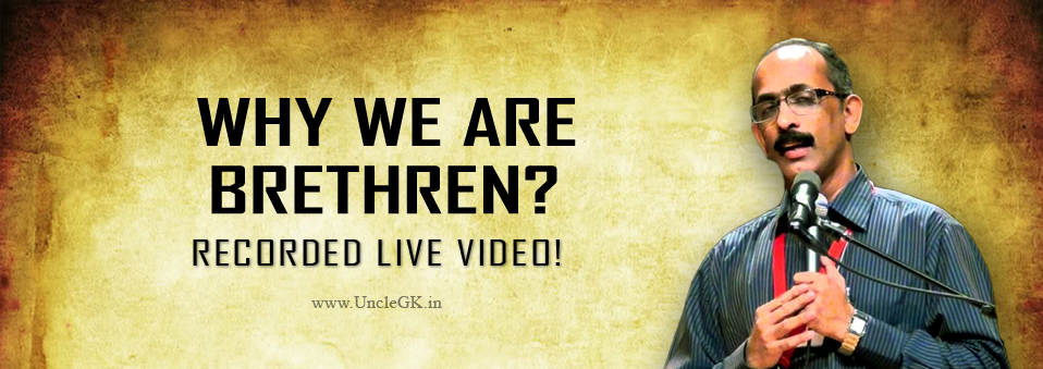 Why we are brethren?